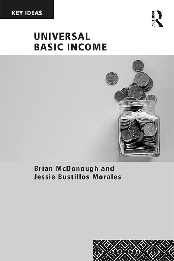 Universal Basic Income book cover
