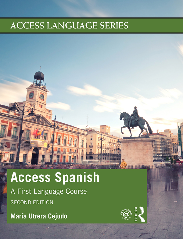 Access Spanish: A First Language Course, 2nd Edition (Hardback) book cover