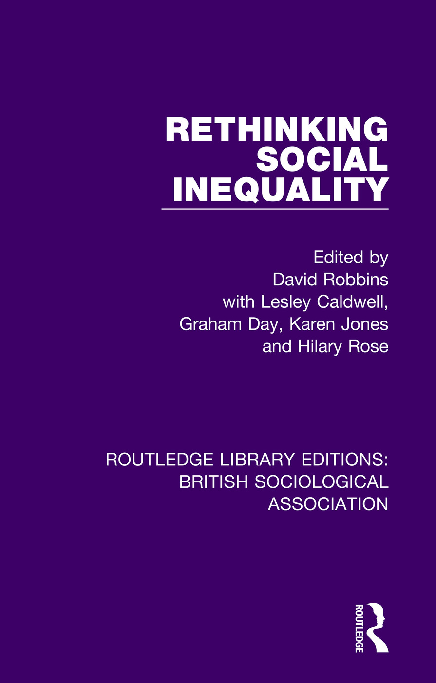 Rethinking Social Inequality book cover