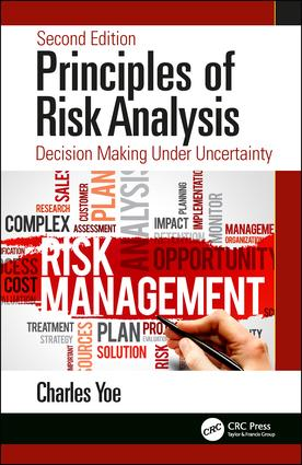 Principles of Risk Analysis: Decision Making Under Uncertainty, 2nd Edition (Hardback) book cover