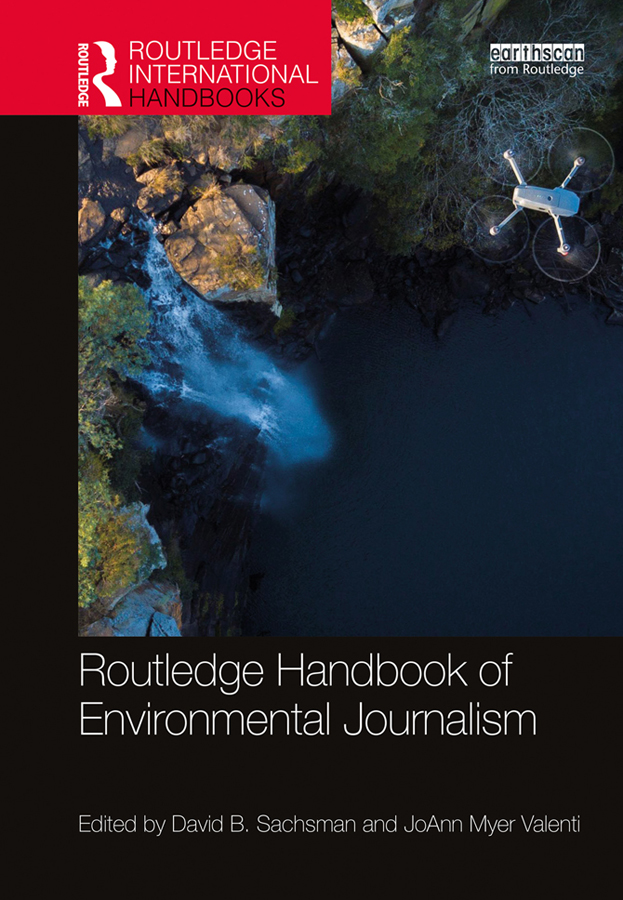 Routledge Handbook of Environmental Journalism book cover