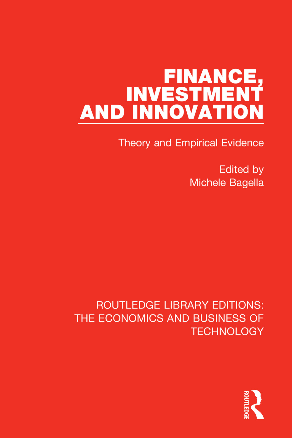 Finance, Investment and Innovation: Theory and Empirical Evidence book cover