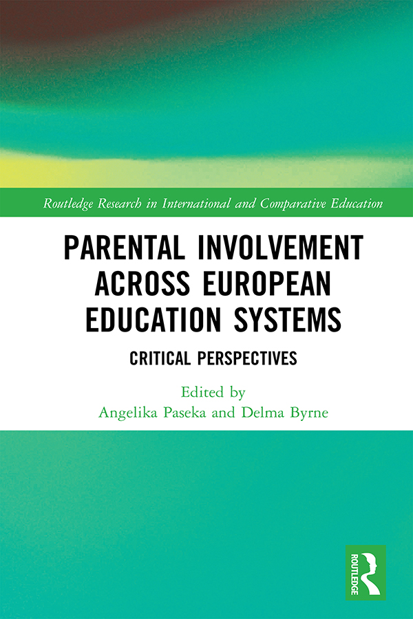 Parental Involvement Across European Education Systems: Critical Perspectives book cover