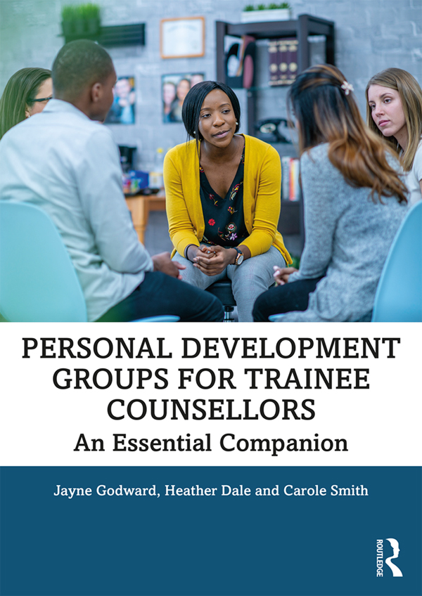 Personal Development Groups for Trainee Counsellors: An Essential Companion book cover