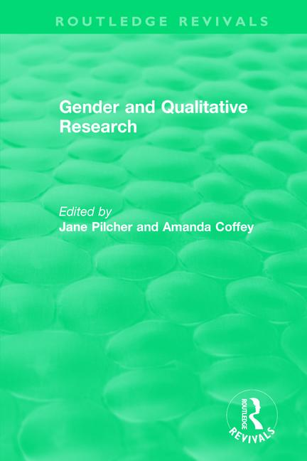 Gender and Qualitative Research (1996) book cover