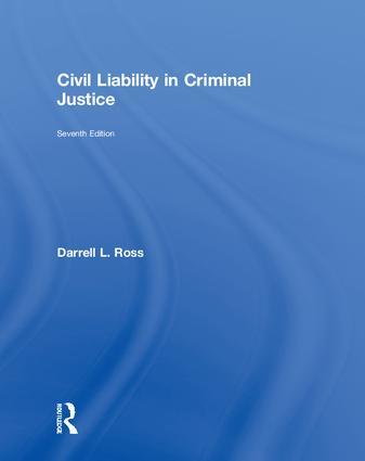 Civil Liability in Criminal Justice book cover