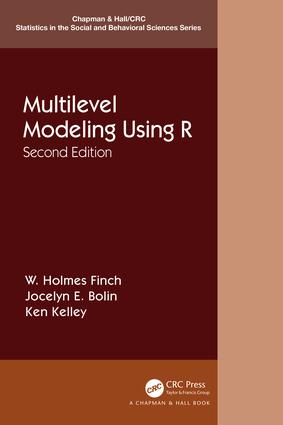 Multilevel Modeling Using R book cover