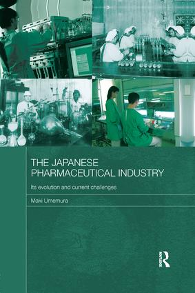 The Japanese Pharmaceutical Industry: Its Evolution and Current Challenges book cover