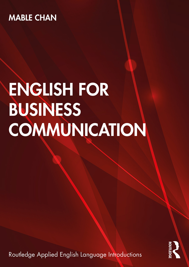 English for Business Communication book cover