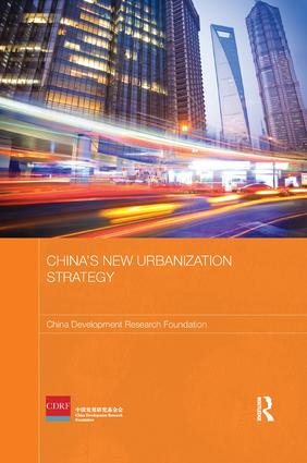 China's New Urbanization Strategy book cover
