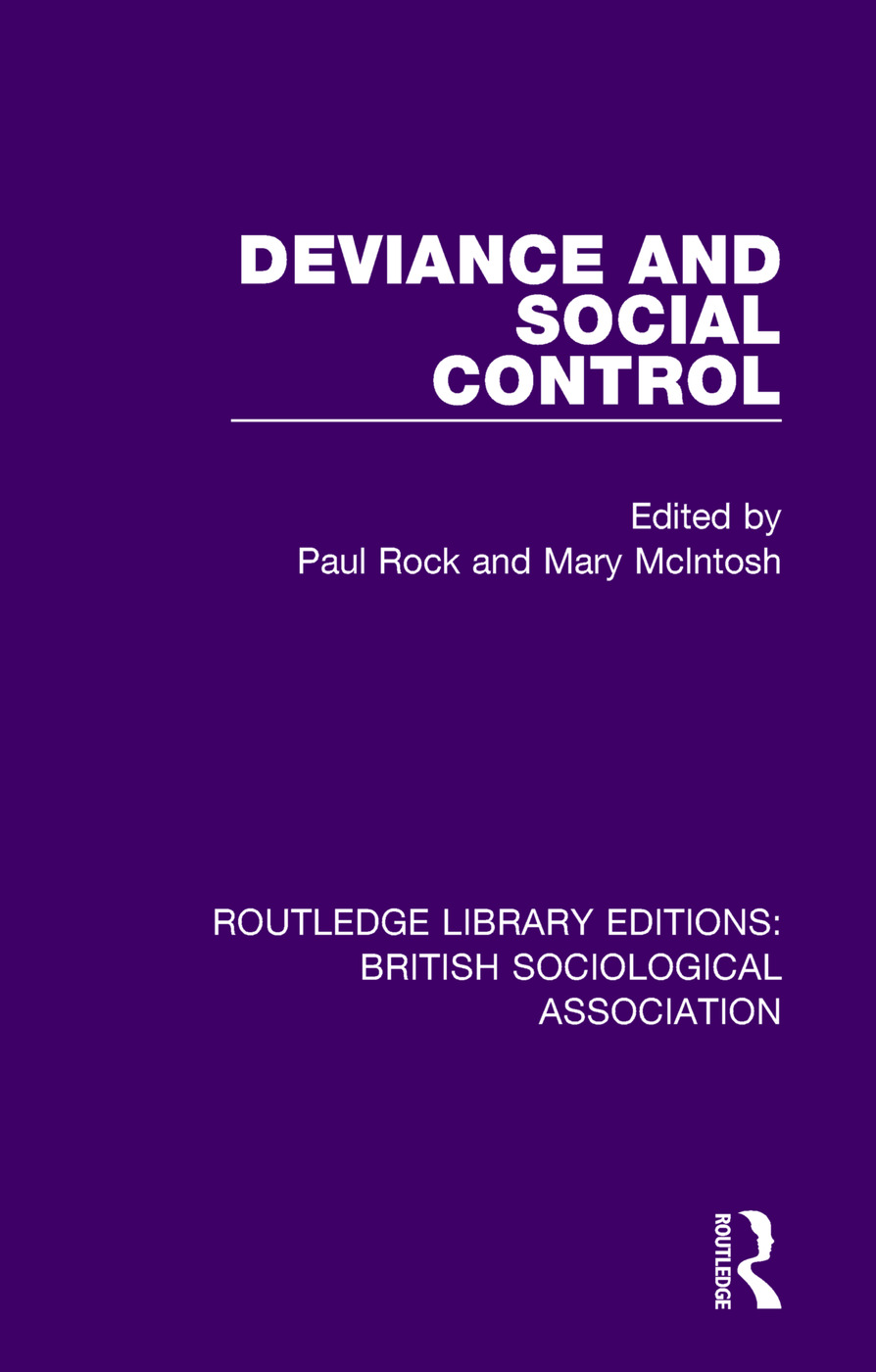 Deviance and Social Control book cover