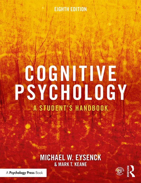 Cognitive Psychology: A Student's Handbook, 8th Edition (Paperback) book cover