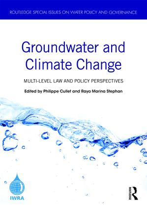 Groundwater and Climate Change: Multi-Level Law and Policy Perspectives, 1st Edition (Hardback) book cover