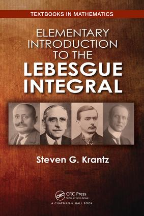 Elementary Introduction to the Lebesgue Integral: 1st Edition (Paperback) book cover