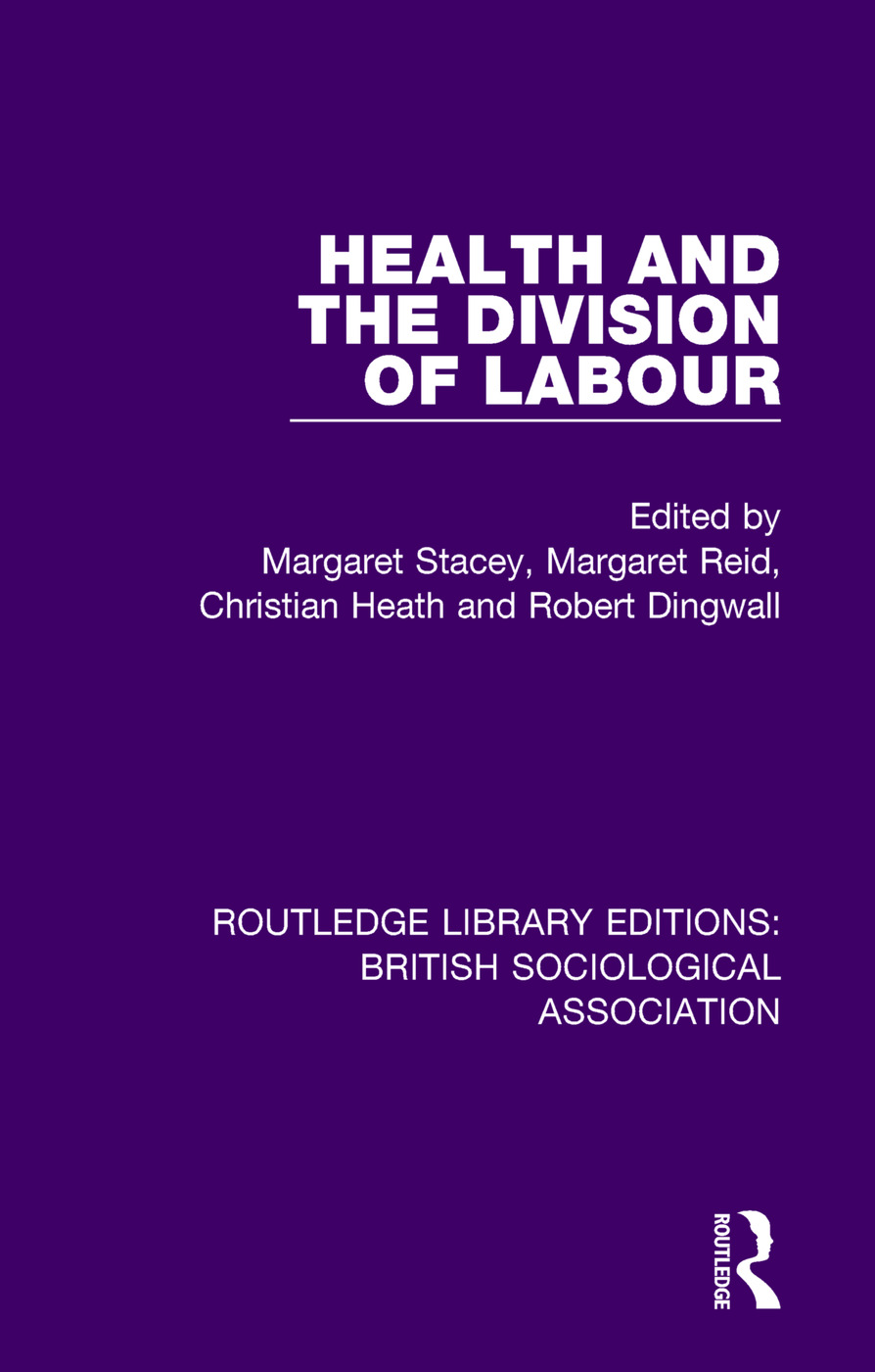 Health and the Division of Labour book cover
