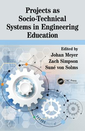 Projects as Socio-Technical Systems in Engineering Education book cover