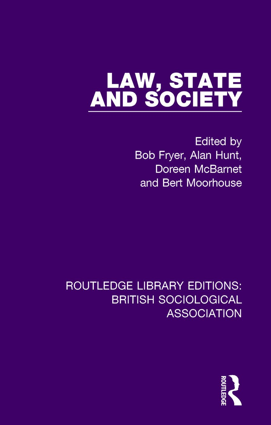Law, State and Society book cover
