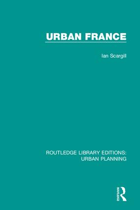 Urban France: 1st Edition (Hardback) book cover