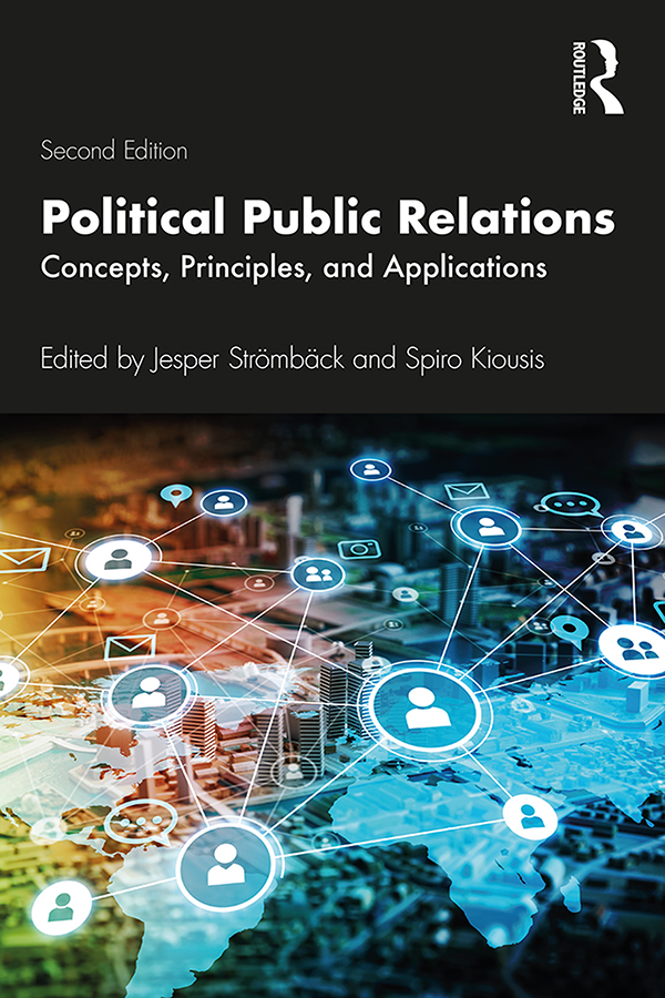 Political Public Relations: Concepts, Principles, and Applications book cover