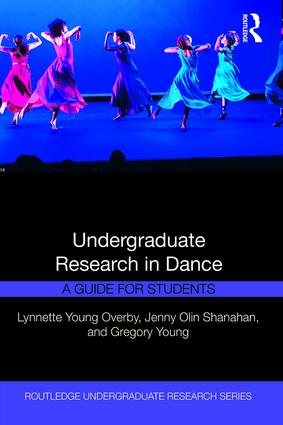 Undergraduate Research in Dance: A Guide for Students book cover