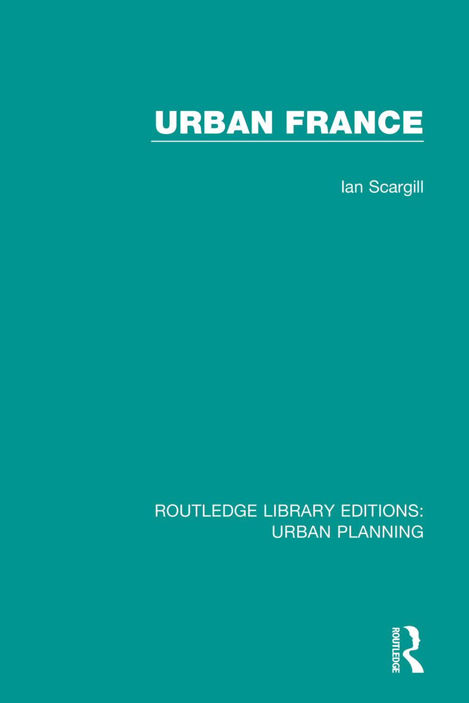 Urban France book cover