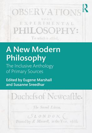 A New Modern Philosophy: The Inclusive Anthology of Primary Sources book cover
