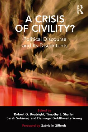A Crisis of Civility?: Political Discourse and Its Discontents book cover