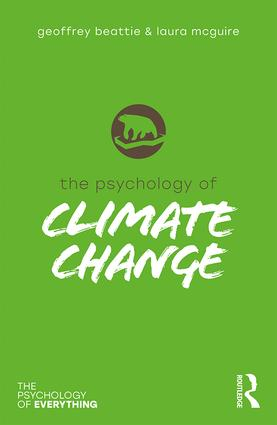 The Psychology of Climate Change (Hardback) book cover