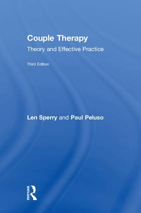 Couple Therapy: Theory and Effective Practice, 3rd Edition (Hardback) book cover
