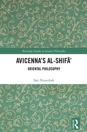 Avicenna's Al-Shifā': Oriental Philosophy book cover