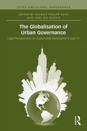The Globalisation of Urban Governance: 1st Edition (Hardback) book cover