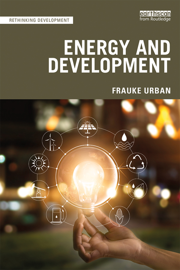 Energy and Development: 1st Edition (Paperback) book cover