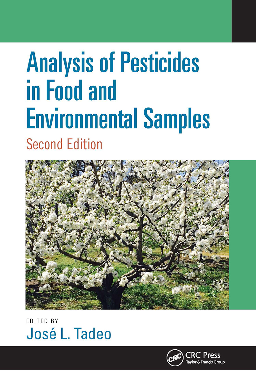Analysis of Pesticides in Food and Environmental Samples, Second Edition: 2nd Edition (Hardback) book cover