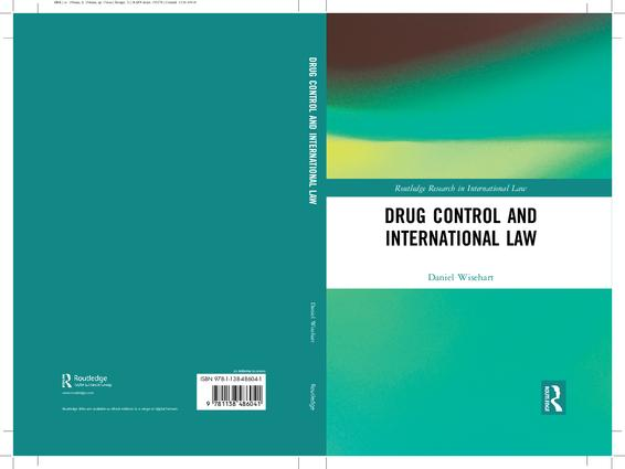 Drug Control and International Law book cover