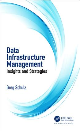Data Infrastructure Management: Insights and Strategies, 1st Edition (Paperback) book cover
