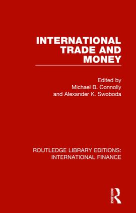 International Trade and Money book cover