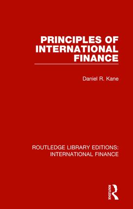 Principles of International Finance book cover