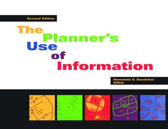 Planner's Use of Information 2nd ed.: 1st Edition (Paperback) book cover