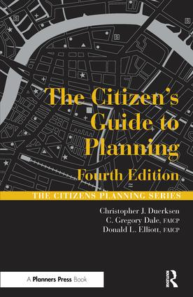 The Citizen's Guide to Planning: 4th Edition (Paperback) book cover