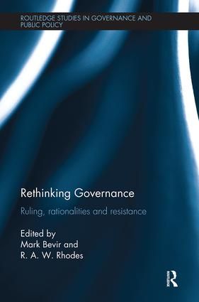 Rethinking Governance: Ruling, rationalities and resistance, 1st Edition (Paperback) book cover