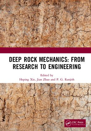 Deep Rock Mechanics: From Research to Engineering: Proceedings of the International Conference on Geo-Mechanics, Geo-Energy and Geo-Resources (IC3G 2018), September 21-24, 2018, Chengdu, P.R. China, 1st Edition (Hardback) book cover