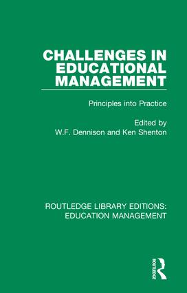 Challenges in Educational Management: Principles into Practice, 1st Edition (Hardback) book cover