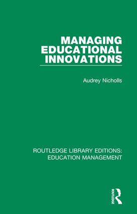 Managing Educational Innovations: 1st Edition (Hardback) book cover
