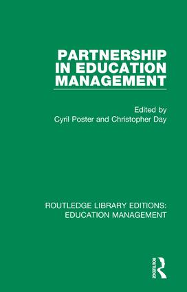Partnership in Education Management: 1st Edition (Hardback) book cover