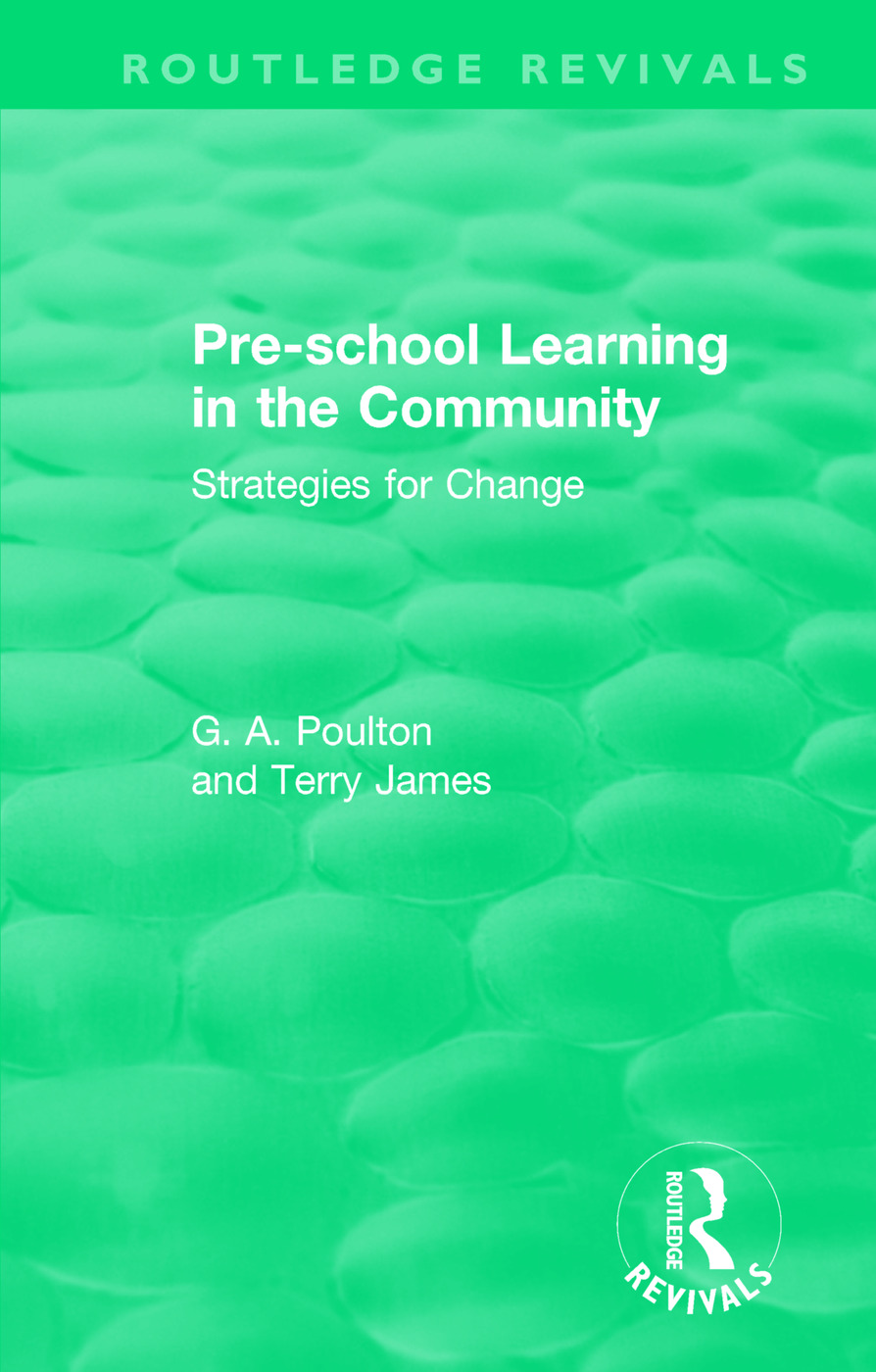 Pre-school Learning in the Community: Strategies for Change, 1st Edition (Paperback) book cover