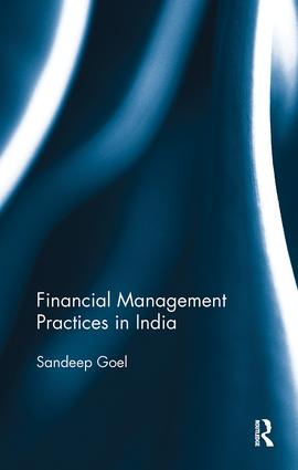 Financial Management Practices in India: 1st Edition (Paperback) book cover