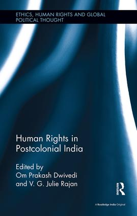 Human Rights in Postcolonial India book cover