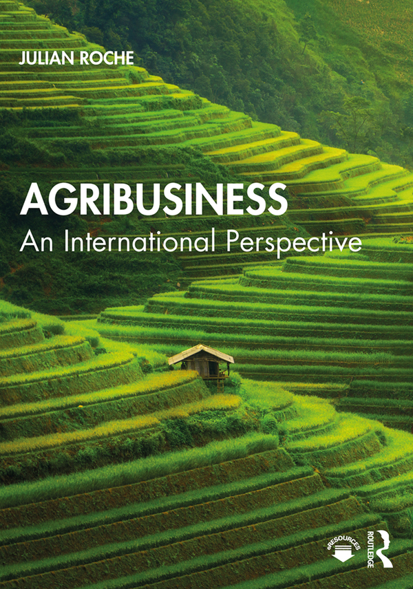 Agribusiness: An International Perspective book cover
