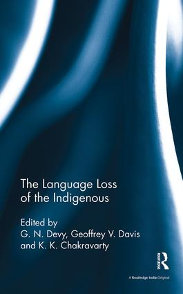 The Language Loss of the Indigenous: 1st Edition (Paperback) book cover