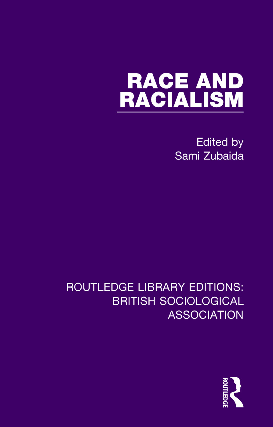 Race and Racialism book cover